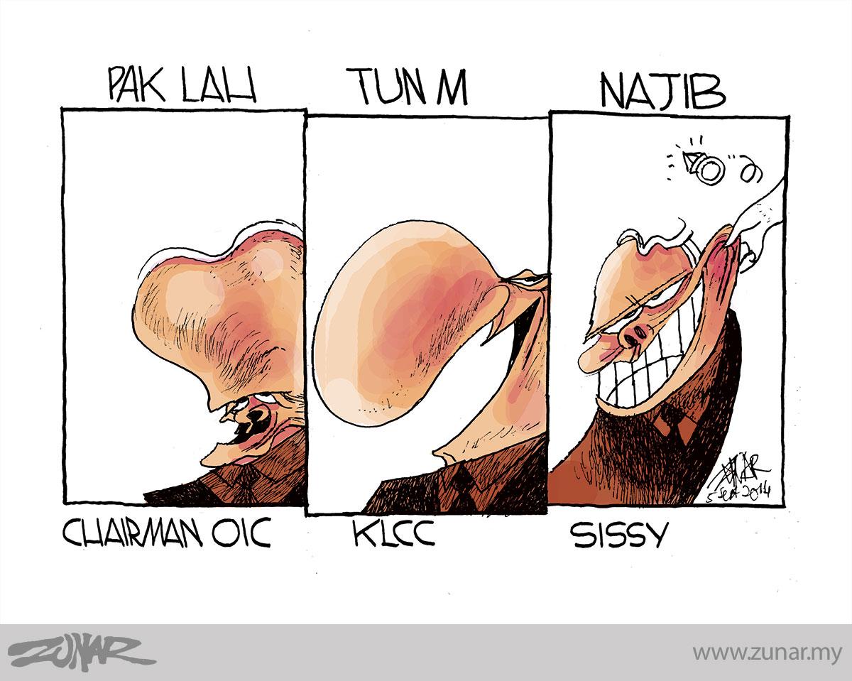 Cartoonkini Sissy 5 Sept 2014 Zunar Cartoonist